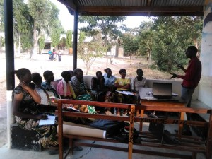 Iombe womens training 3