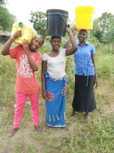 Mayega water buckets