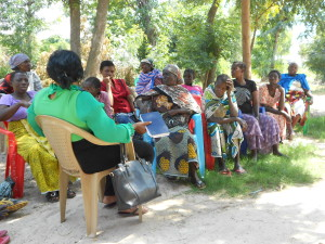 Women's self help group Igombe June 2015