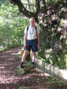 John walking
