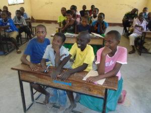 Mayega primary classroom