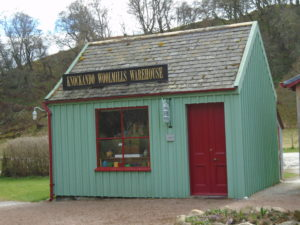 Knockando woolen mill shop