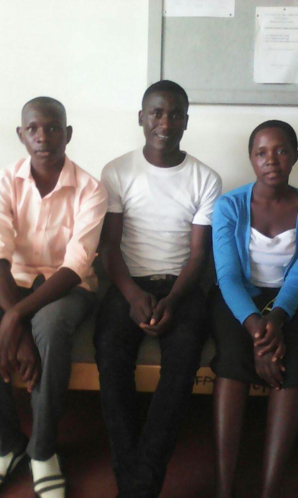 New recruits ,Lukondya,mazabuka and Monica