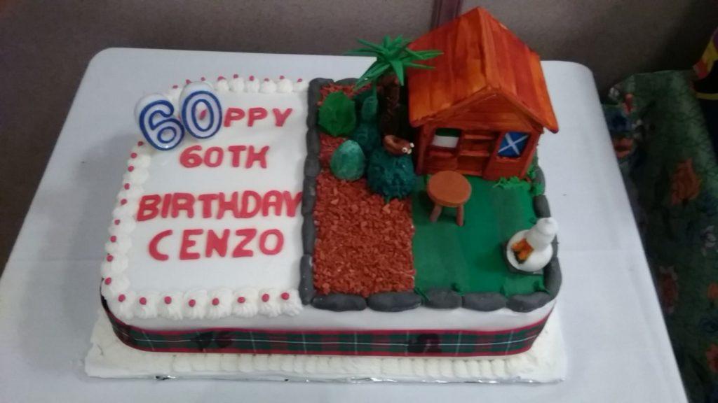 Cenzo's cake
