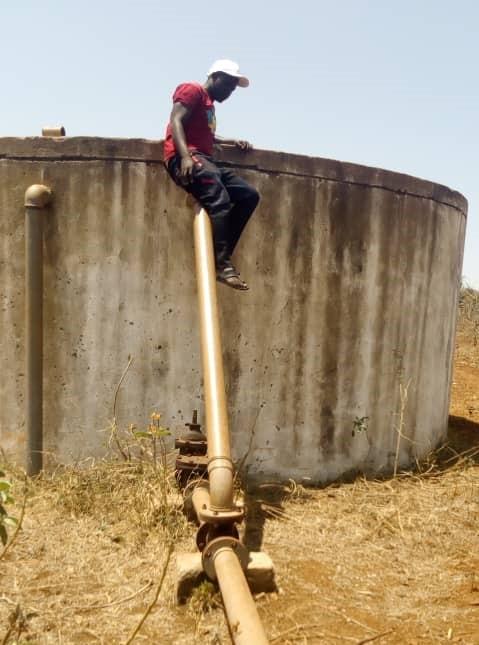 Hill Water Tank